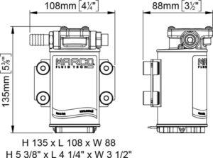 Marco OCK1 Oil change Kit (24 Volt) 8