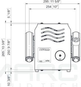 Marco UP14/E-DX Elektronische Druckwasseranlage mit PCS 92 l/min 20
