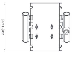 Marco UP14/E-DX Elektronische Druckwasseranlage mit PCS 92 l/min 21