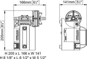 Marco UP3-CK Kit tragbare Zahnradpumpe 15 l/min (12 Volt) 13